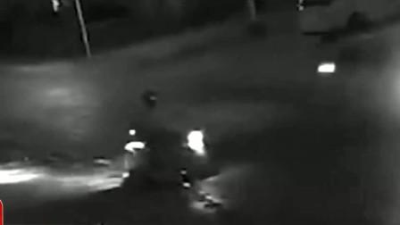监控实拍!老人路上先后遭3车连撞,3车均逃逸老人不幸身亡