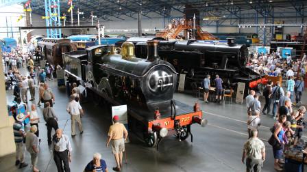 世界上最大的铁路博物馆,近100年前创立,每年吸引百万游客!
