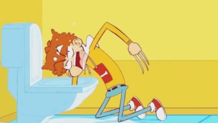 搞笑阿衰:阿衰给大脸妹刮腿毛,这也太旺盛了吧,女孩子咱能矜持点吗