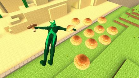 泰罗奥特曼吃了蘑菇以后发生了什么啊?