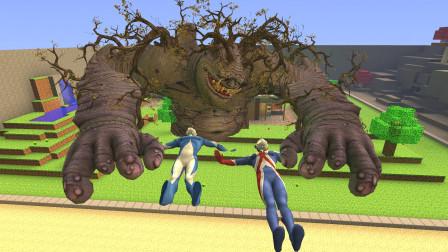 巨型怪兽把高斯奥特曼兄弟抓起来了要怎么办啊?