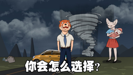 烧脑测试:暴风雨来临前的安静!最疯狂的选择?