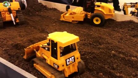 儿童玩具,钢筋混凝土推土机装载机玩具