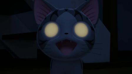甜甜私房猫:哇,小奇的眼睛好厉害呀!