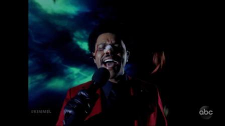 【猴姆独家】盆栽#The Weeknd#最新现场惊艳表演Blinding Lights