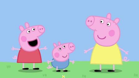 小猪佩奇与猪妈妈儿童卡通简笔画