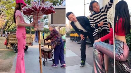 """中国成都2米高""""女巨人VS女巨人"""",在网上火了,关键人还长得漂亮"""