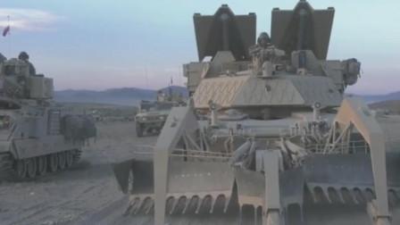 这款重达80吨级的怪兽可助美军穿越雷区,M1150突击破障车