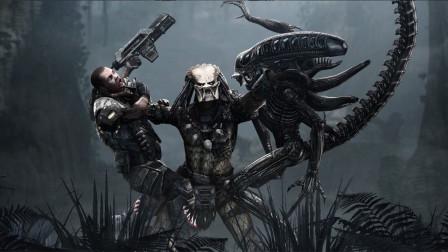 《异形大战铁血战士》2,在人类面前全都是弟弟,一颗核弹扫八荒