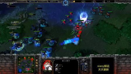 魔兽第一站桩输出 魔兽争霸xiaoy解说120 chaemiko 2