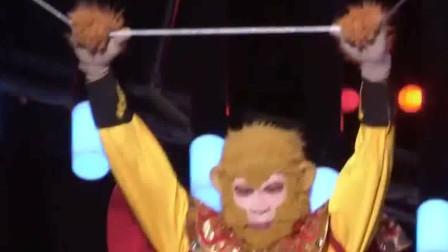 环球综艺秀:郭成高空杂技秀《美猴王》,太厉害了,居然能做到这个点上,实在不简单!