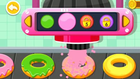 奇妙咖啡餐厅 妙妙店长做甜甜圈 宝宝甜品店游戏
