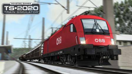模拟列车2020 - 塞默林铁路 #3:暴力电制动 工程车辆回送行程 | Train Simulator 2020