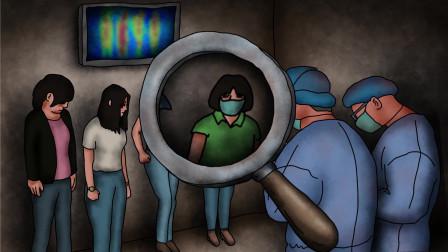 咖子脑力测试:过年期间好危险呀,三人当中谁得了肺炎?