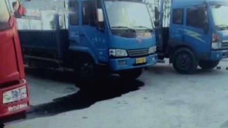 多辆货车频繁被偷油,监控拍下神秘贼影,都是妻子惹得祸啊!