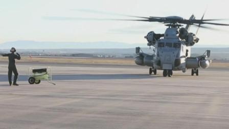 美军CH-53E重型直升机威武霸气,最大起飞质量32吨