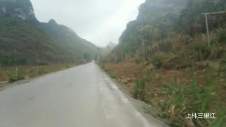 上林大年三十下雨哒哒!山中云雾缭绕好像在画中
