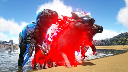 方舟生存进化 普罗米09 驯服贪吃狼 比十个渡渡霸王龙还能吃