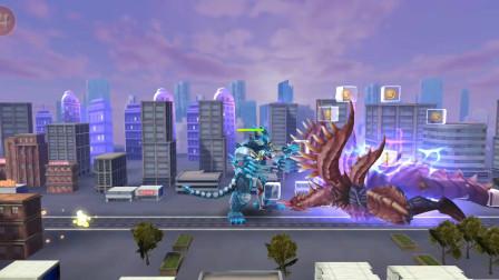 奥特曼格斗超人:铠甲艾克斯和两个铠甲怪兽联手能打败魔格大蛇吗