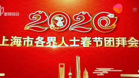 2020年上海市各界人士春节团拜会(二)