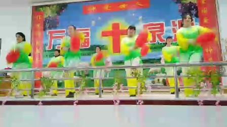 2020年崔桥镇基督教会春节赞美舞蹈。