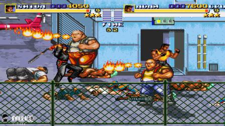 怒之铁拳西班牙版,双截龙MOD,先来体验一下双截龙的MOD好玩不