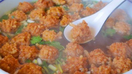 过年必备的丸子汤,从丸子到做汤详细讲解,酥脆酸爽解油腻,好喝