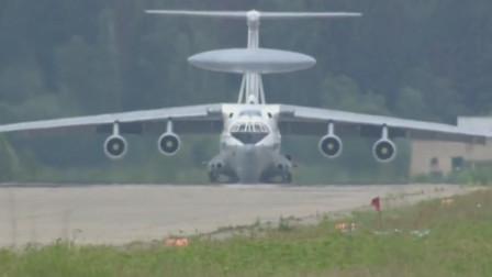 俄罗斯A50预警机是用伊尔76运输机改装而成