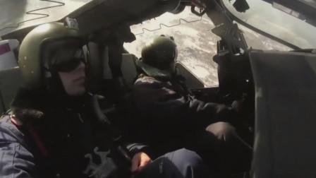 俄罗斯卡52武装直升机舱盖上方有导爆索,装备了先进的弹射椅
