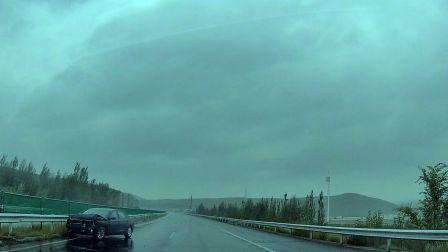 自驾第一天,至土默特右旗,路遇10起交通事故,真危险