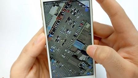 教你打开手机卫星地图,村里每一间房屋,你家院子、汽车都能看到