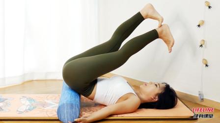 在家过年如何做臀部训练,四分钟简单的筋膜放松,激活臀大肌