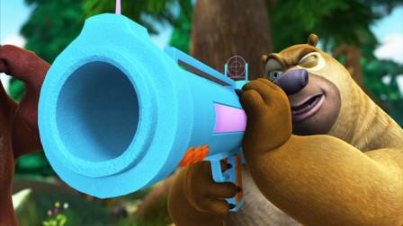 熊出没大冒险 熊二也有威风的时候