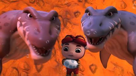 猪猪侠和波比对战黑化罗伊谁赢?