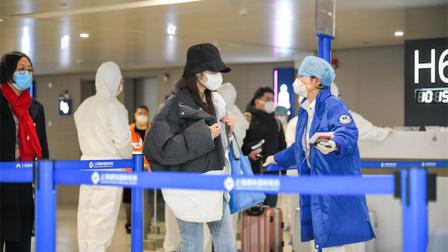 防控新型冠状病毒肺炎 上海两大机场对所有抵沪航班旅客测温