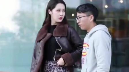 武汉街拍:偶遇情侣逛街,这么霸气可爱的小姐姐你们见到过么?