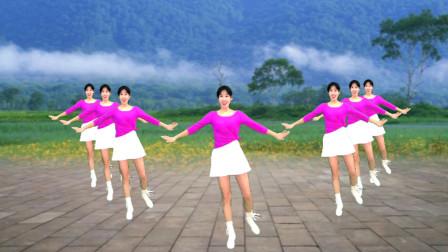 快乐健身广场舞《借点情借点爱》时尚好看,跳出健康好身材