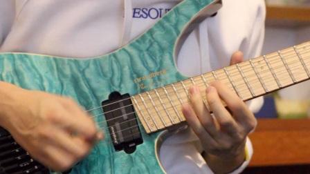 【电吉他】polyphia高难度扫拨曲40oz