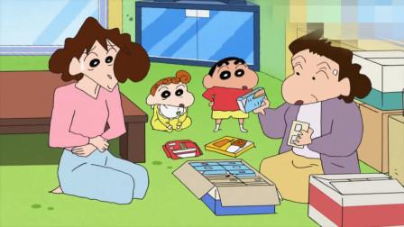 蜡笔小新新番:妈妈想要卖掉家中的闲置物品,全都是减肥产品哦!