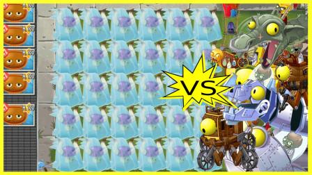 用冰冻的小喷菇挑战全部僵王效果如何?网友:一个能打的都没有!