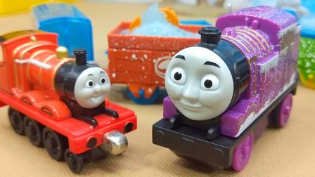 托马斯小火车和朋友们探险 帮助海底生物