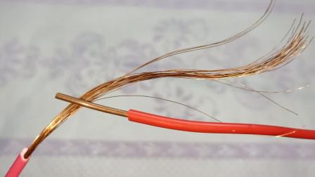 电工知识:软线和硬线,切记不能直接缠,老电工这样接电线,牢固耐用又安全