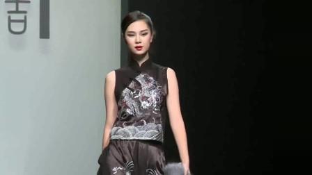时装秀:经典的复古元素,时尚大气韵味十足,中国风好美!