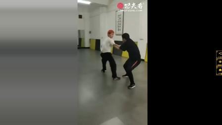 八极拳扶手的摔法变化展示