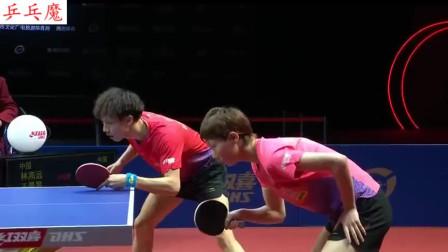 乒乓球还能这样打?女左男右VS女右男左!谁更胜一筹?