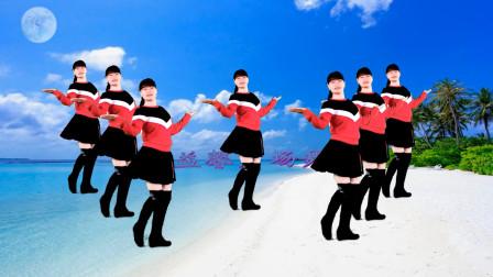 广场舞《言不由衷》歌曲好听舞好看,健身又快乐