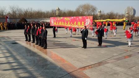 平罗县2020年迎新春社火展演城关镇社火队大赛荣获一等奖:拍摄张福忠。