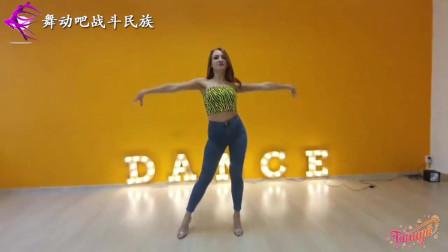 """俄罗斯女孩和黑人舞蹈老师学跳""""巴恰塔舞"""",笑得好开心"""
