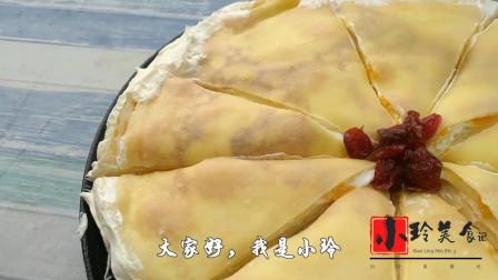芒果奶油蛋糕最简单做法,不用烤箱,香甜松软,好吃又解馋