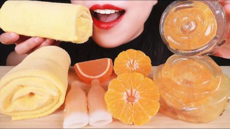 生活漫话 橙色美食的食欲超强,感受颜值口感的巅峰,充满神奇魔力